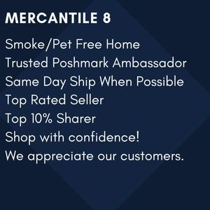 Meet your Posher, Mercantile 8
